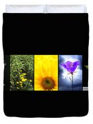 Five Flower Composite Duvet Cover