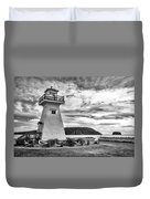 Five Islands Lighthouse Duvet Cover