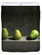 Five Pears Duvet Cover
