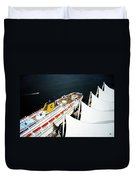 Five Sails And A Ship Duvet Cover