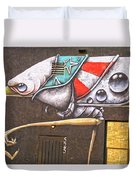 Five Two Five Duvet Cover