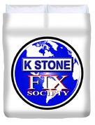 Fix Society Duvet Cover