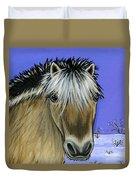 Fjord Pony Duvet Cover