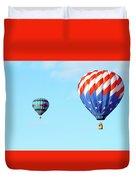 Flag Balloon Duvet Cover