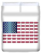 Flag Bottles3 Duvet Cover