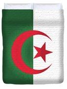 Flag Of Algeria Wall. Duvet Cover