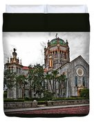 Flagler Memorial Presbyterian Church 2 Duvet Cover