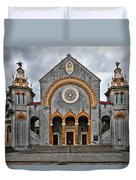 Flagler Memorial Presbyterian Church Duvet Cover