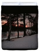 Flambeau Sunset Duvet Cover