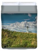 Flamborough Lighthouse, North Yorkshire. Duvet Cover
