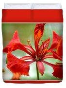 Flamboyant Beauty Duvet Cover