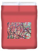 Flamboyant Beauty Duvet Cover