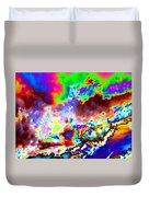 Flamboyant Cloudscape Duvet Cover