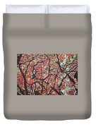 Flamboyants In The Sky Duvet Cover