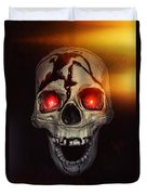 Flame Eyes Duvet Cover