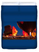Flame On Duvet Cover