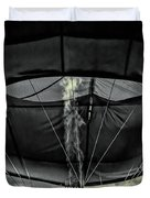 Flame On Hot Air Balloon Duvet Cover