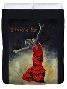 Flamenco 18 Duvet Cover