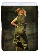 Flamenco #21 - Attitude Duvet Cover