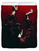 Flamenco Fire Duvet Cover