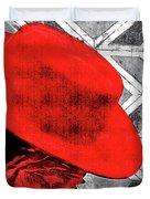 Flamenco Girl Duvet Cover