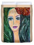 Flamenco Nights - Madalena Duvet Cover