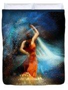 Flamencoscape 05 Duvet Cover