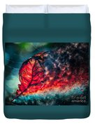 Flaming Fall Color Duvet Cover