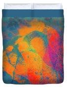 Flaming Foliage 1 Duvet Cover