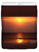 Flaming Sunrise Duvet Cover
