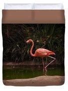 Flamingo 1 San Diego Zoo Duvet Cover