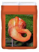 Flamingo Asleep Duvet Cover
