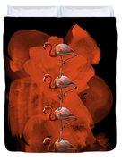 Flamingo Balance - 1 Duvet Cover