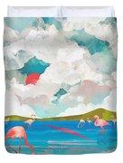 Flamingo Dream Duvet Cover
