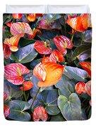 Flamingo Flower Bed Duvet Cover