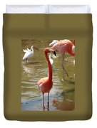 Flamingo II Duvet Cover