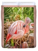 Flamingo2 Duvet Cover