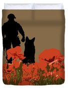 Flanders Fields 11 Duvet Cover