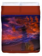 Flash Of Confusion Duvet Cover