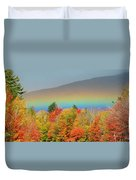 Flat Rainbow Duvet Cover