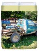 Flatbed Truck Duvet Cover