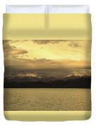 Flathead Lake Montana Duvet Cover