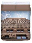 Flatiron Building Sky Color Duvet Cover