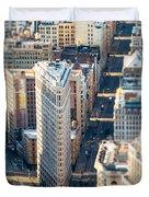 Flatiron Building Duvet Cover