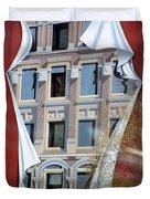 Flatiron Mural Duvet Cover