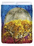 Flavo Luna In Ligno Duvet Cover
