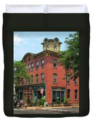Flemington Main Street Duvet Cover