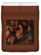 Flemish Artist 16 17th Century. Duvet Cover