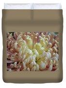 Curled Flower Duvet Cover