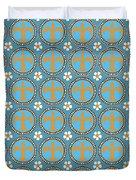 Fleur De Lis Pattern No. 2 Duvet Cover